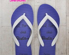 Chinelo Infantil, Barbie Azul