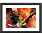 Quadro David Gilmor Pink Floyd Rock Cult