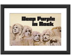 Quadro Deep Purple In Rock Decoracao Pub