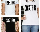CAMISETA STAR LABS - FLASH