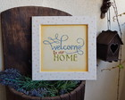 Placa Welcome to Our Home