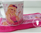 Kit caneca Barbie