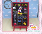 Plaquinha Chalk Board Mickey Mouse