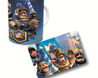 Kit Caneca Mouse Pad do Clash Royale