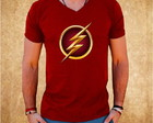 Camiseta Flash - DC Comics - Masculino
