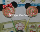 Pirulito Mickey e Minnie