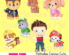 Kit Digital Patrulha Canina Cute