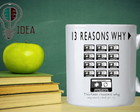 caneca 13 reasons why (series)