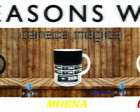 caneca 13 reasons why (series) magica