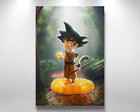 Placa Decorativa 40x29cm Goku