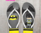 Chinelo Infantil Batman Cute