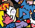Quadro Decorativo Romero de Britto Best
