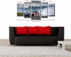 Quadro Decorativo Carro Drift Red Bull P
