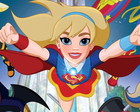 Painel 1x0,65m Super Hero Girls