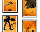 Quadros Star Wars (Naves)