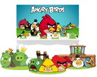 Combo Festa Ouro Angry Birds Painel Mdf