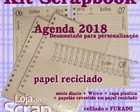 kit Scrapbook agenda wire-o luva eco