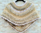 Mini Poncho de croche