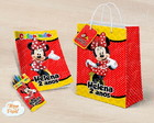 Kit colorir giz sacola Minnie