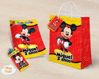 Kit colorir giz sacola Mickey