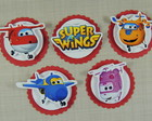 cod 5033 - Tag 4,5 cm Super Wings