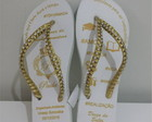 Chinelo Eng Ambiental com strass