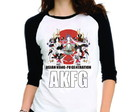 Camiseta Asian Kung Fu Generation 3/4