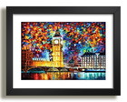 Quadro Abstrato Londres Arte Decor F50