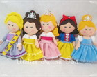 Kit 5 Princesas Disney Luxo