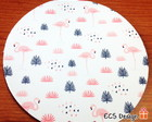 Mouse Pad Flamingos