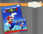 Kit Colorir - Mario Bros