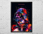 Quadro Grande Star Wars Father