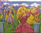 Painel Barbie Mosqueteira 2