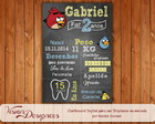Chalkboard Digital - Angry Bird