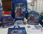 Kit Mochila Escolar Personalizada Big Hero 10 pçs