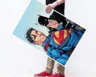 Poster Grande Superman Batman Selfie