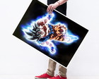Poster Grande Dragon Ball Goku Instinto superior