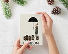 "Placa decorativa MDF ""London"""