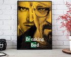 Poster Breaking Bad com moldura