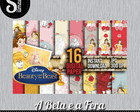 Kit Digital A Bela e a Fera 6 - Scrap