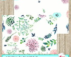 Kit Digital - Traveler's Notebook A5 Floral Water