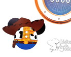 Imã Disney Cruise Headfun Woody