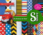 Kit Digital As aventuras de Chuck 1 - Scrap