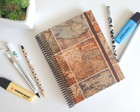 Caderno pontilhado bullet journal