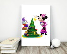 "Placa decorativa MDF ""Natal Disney"""