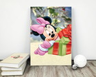 "Placa decorativa MDF ""Natal Minnie Baby"""