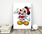 "Placa decorativa MDF ""Natal Minnie"""