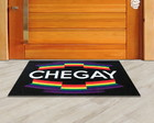 Tapete Capacho Divertido LGBT Chegay