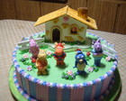 Bolo decorado Backyardigans