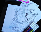 Princesas Disney kit para colorir